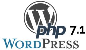 WordPress & PHP 7.1